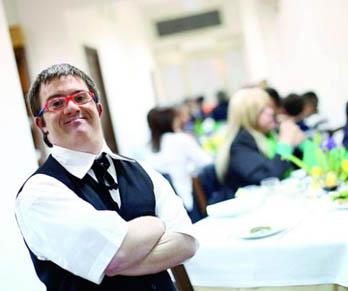 Alessandro, ristoratore Down: «Così ho realizzato un sogno»