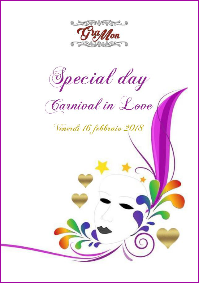 Special day. Carnival in Love